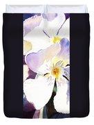Oleander Flower By Irina Sztukowski Duvet Cover