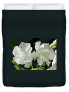 Oleander Mont Blanc 1 Duvet Cover