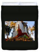 Oleeta Of The Timucua Duvet Cover