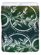 Olive Branch Duvet Cover