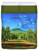 Olive Grove Spain Duvet Cover