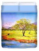 Olive Grove Duvet Cover