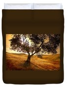 Olive Tree Dawn Duvet Cover