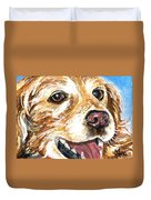 Oliver From Muttville Duvet Cover