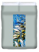 Olives Extract Duvet Cover
