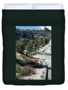 Olmsted Down The Road View Duvet Cover