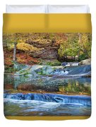 Olmsted Waterfalls Duvet Cover
