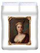 Olof Arenius, Ulrika Eleonora Ribbing Af Zernava 1723-1787 Duvet Cover