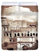 Colosseum From Roman Forums  Duvet Cover