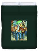 Olympia Brass Band Duvet Cover
