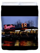 Olympia Diner Duvet Cover