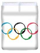 Olympic Ensos Duvet Cover