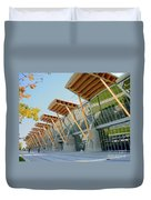 Olympic Oval Duvet Cover
