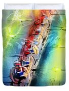 Olympics Rowing 02 Duvet Cover