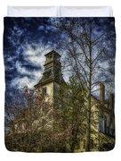 Ominous Batsto Mansion Duvet Cover
