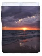 On A Cloudy Night Duvet Cover