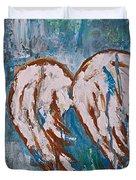 On Angel Wings Duvet Cover