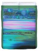 On Another Planet Duvet Cover