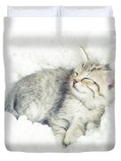 On Cloud Nine Duvet Cover by Amy Tyler