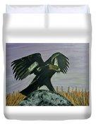 On Eagles Wings Duvet Cover