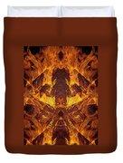 On Fire Duvet Cover