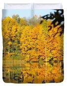 On Golden Pond 2 Duvet Cover