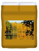 On Golden Pond 2 Duvet Cover