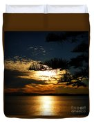 Golden Moments Duvet Cover