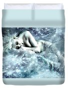 On Ice Duvet Cover