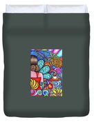 On My Mind Duvet Cover