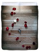 On Nature, Tragedy, And Beauty I Duvet Cover by Break The Silhouette