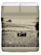 On The Battlefield - Gettysburg Duvet Cover