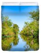On The Bayou 3 Duvet Cover