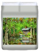 On The Bayou Duvet Cover
