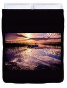 On The Boat Duvet Cover by Okan YILMAZ