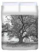 On The Delta Monochrome Duvet Cover