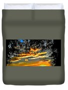 On The Edge Of Night Duvet Cover