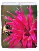 On The Edge Of Petals Duvet Cover