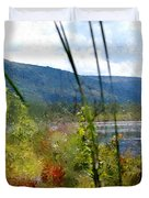 On The Edge Of Reality Duvet Cover