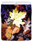 On The Forest Floor Vivid Colors Duvet Cover