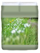 On The Garden Path Duvet Cover