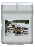 On The Hillsboro Canal Duvet Cover