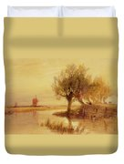 On The Norfolk Broads Duvet Cover
