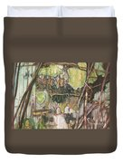 On The Outer - Tree Trunk Extracts - Section Detail II Duvet Cover
