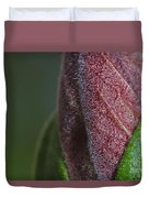 On The Path To Bloom Duvet Cover