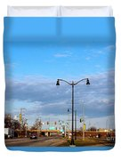 On The Road Agan Duvet Cover