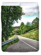 On The Road Duvet Cover