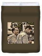 On The Road-mitt Romney Duvet Cover