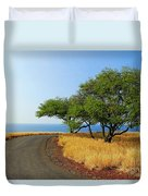 On The Road To Lapakahi Duvet Cover