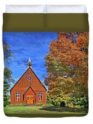 On The Road To Maryville Duvet Cover